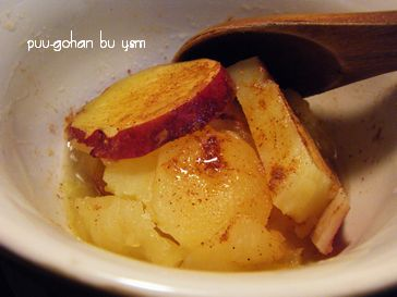 リンゴとサツマイモの重ね煮3