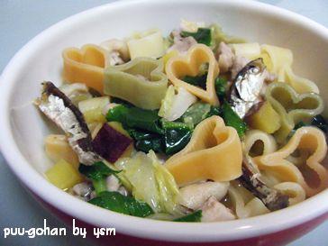 ペットシッターの手作り食-ラブパスタのスープ-